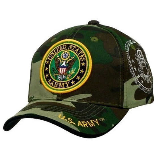 Imagine SAPCA US ARMY DELUXE LICENTA OFICIALA CAMOUFLAGE