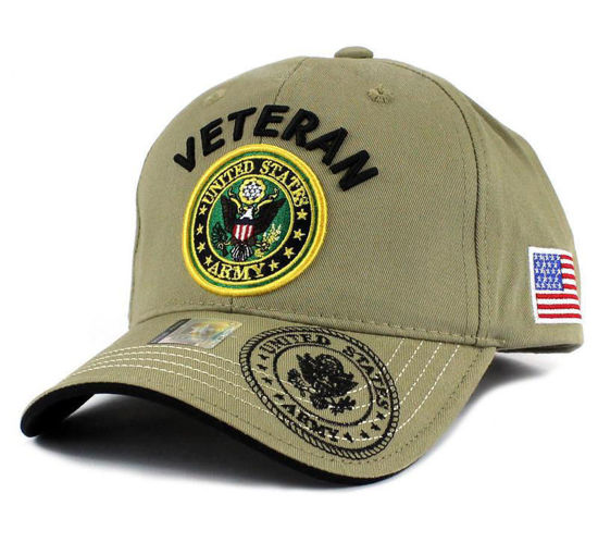 Imagine SAPCA US ARMY VETERAN DELUXE KAKI LOGO