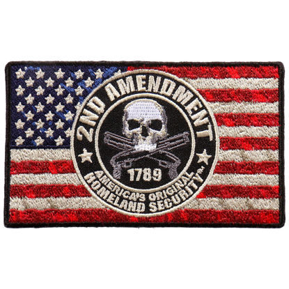 Imagine Emblema 2nd Amendment Patch 10cm/5cm