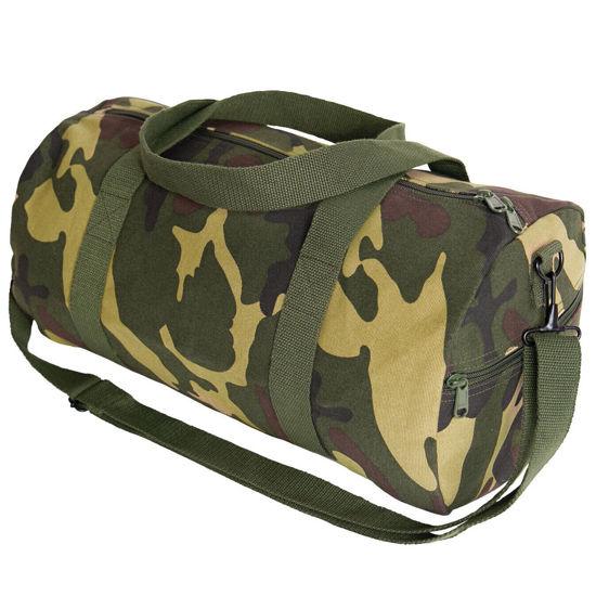 Imagine Canvas Shoulder Duffle Bag Camouflage