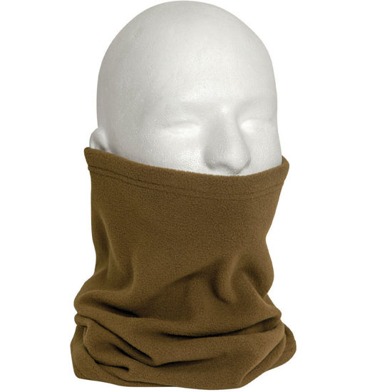 Imagine Fular Polar Fleece Neck Warmer Coyote Brown