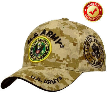 Imagine PREMIUM DESERT STORM US ARMY CAP