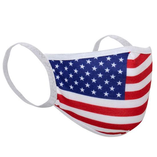 Imagine Masca de protectie US FLAG in 3 straturi