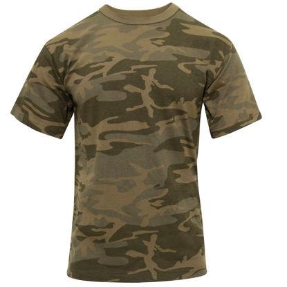 Imagine Tricou Coyote Camo Army Tshirt Marimi pana la 3XL