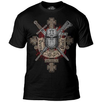 Imagine TRICOU 'Deus Vult' Premium Men's T-Shirt
