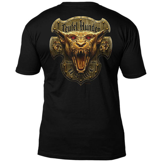 Imagine TRICOU US Marines Devil Dog Men's T-Shirt