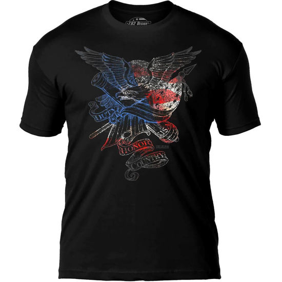 Imagine TRICOU 'Duty Honor Country' Premium Men's T-Shirt