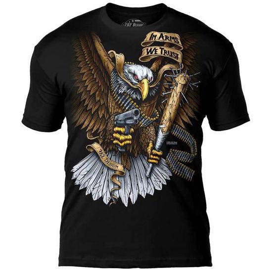 Imagine TRICOU In Arms We Trust Premium Men's T-Shirt