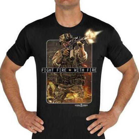 Imagine TRICOU Fight Fire With Fire Premium Men's T-Shirt