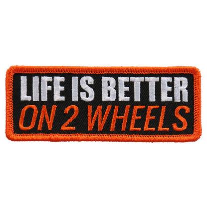 Imagine Emblema Life is better on 2 wheels PATCH 10CM/5CM