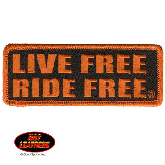 Imagine Emblema Live Free Ride Free Patch 10cm/5cm