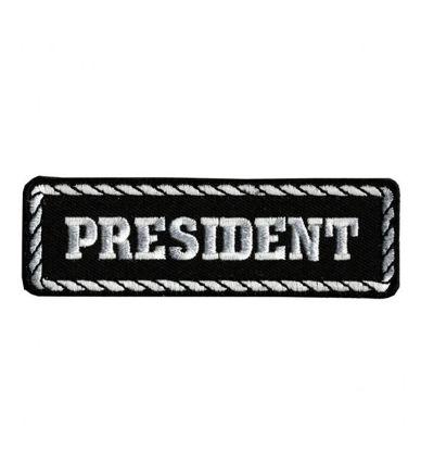Imagine Emblema President Patch 10cm/3cm