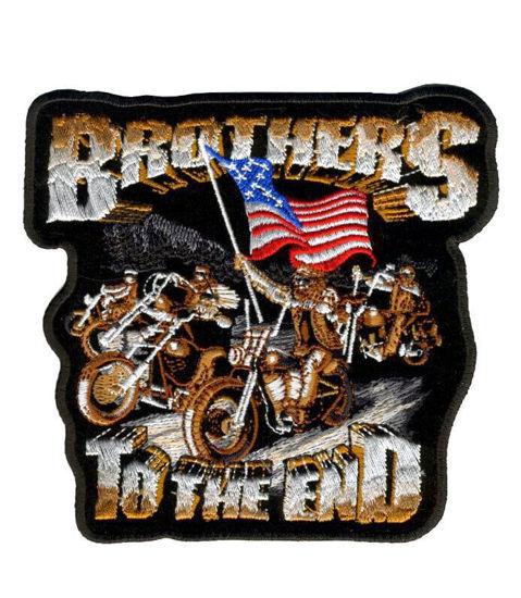 Imagine Emblema Brothers Til the End Patch 13cm/13cm