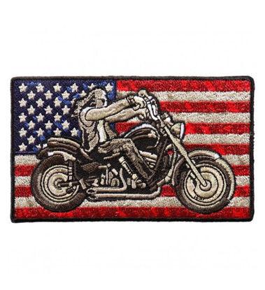 Imagine Emblema Biker Flag Patch 10cm/5cm