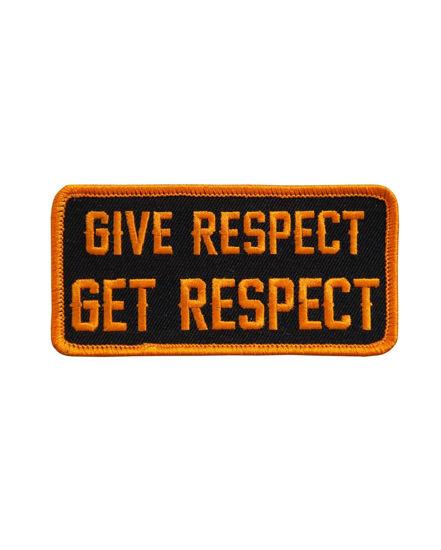 Imagine Emblema Give Respect Get Respect Patch 10cm/5cm