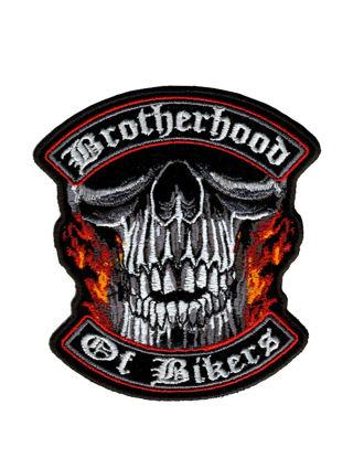 Imagine Emblema Brotherhood of Bikers Patch 10cm/10cm