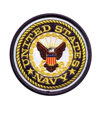 Imagine Emblema US Navy Patch 77mm/77mm