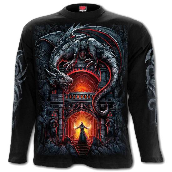 Imagine TRICOU CU MANECA LUNGA LET ME ENTERTAIN YOU! Longsleeve T-Shirt Black