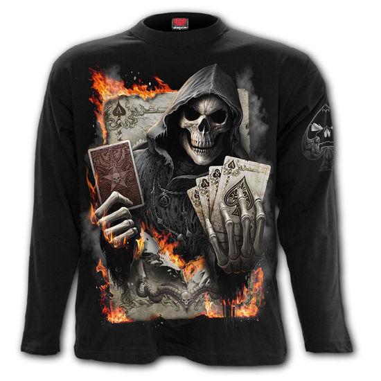 Imagine TRICOU CU MANECA LUNGA THE JOKER – Longsleeve T-Shirt Black