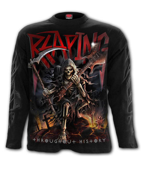Imagine TRICOU CU MANECA LUNGA REAPING TOUR Longsleeve T-Shirt Black