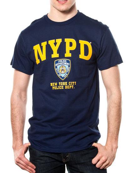 Imagine TRICOU NYPD YELLOW PRINTED TEE/licenta oficiala