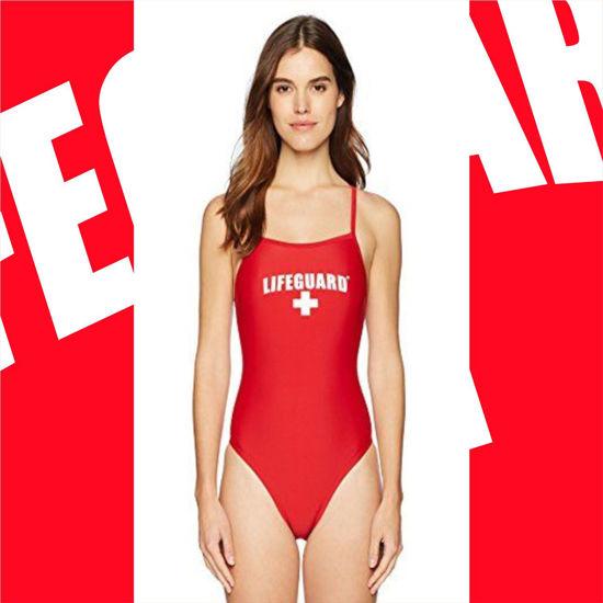 Imagine Costum de baie Lifeguard Beach Swimsuit Official License