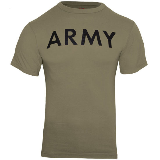Imagine Coyote Brown Army Physical Training T-Shirt