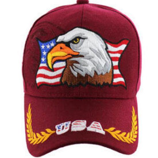 Imagine SAPCA AMERICAN USA EAGLE BURGUNDY COD 38